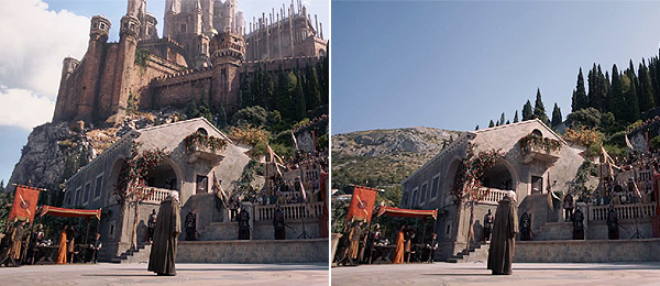 Game of Thrones CGI vs. Real - Video