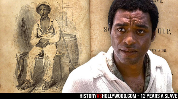 Solomon Northup and Chiwetel Ejiofor