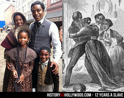 Solomon Northup with Wife Anne and Children