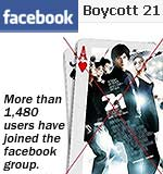 Facebook Boycott 21 group