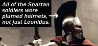 Elmo spartano di Leonida