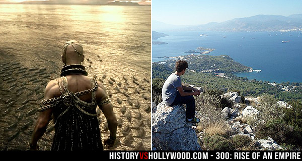 Battle of Salamis Location in Movie and Today