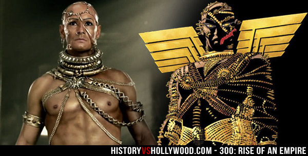 Rise of an Empire Xerxes and Frank Miller Xerxes