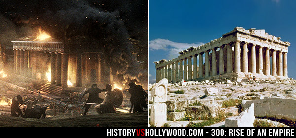 Old Parthenon Movie and Parthenon