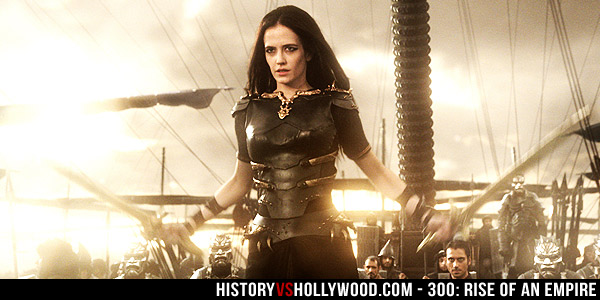 Eva Green as Artemisia in 300 Rise of an Empire