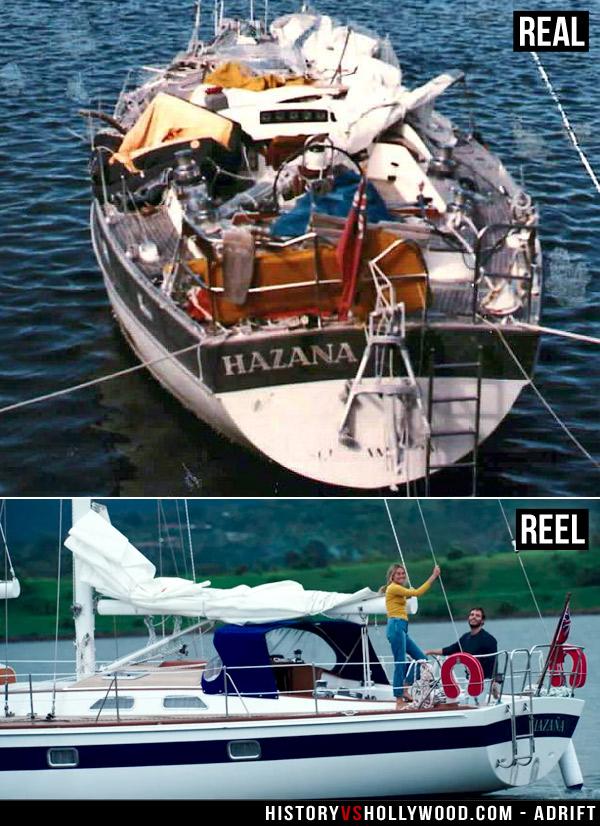 Hazana Boat Damage Tami Oldham Ashcraft
