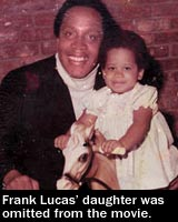 Frank Lucas daughter Francine