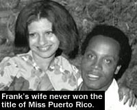 Frank Lucas wife not Miss Puerto Rico