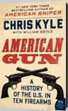 American Gun Book Chris Kyle, William Doyle