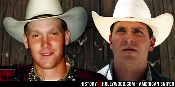 Chris Kyle Rodeo Rider and Bradley Cooper Cowboy Hat