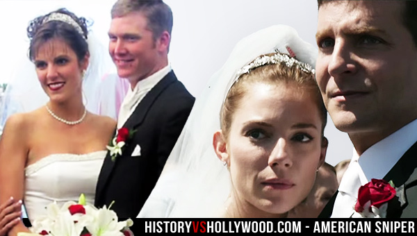 Taya Kyle and Chris Kyle Wedding, Sienna Miller and Bradley Cooper