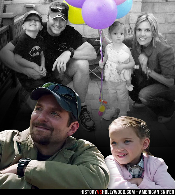 Chris and Taya Kyle with Son Colton and Daughter McKenna