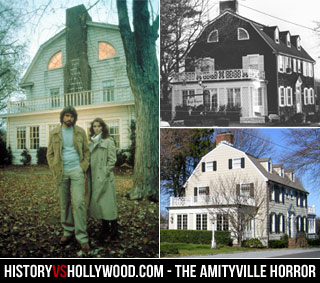 1979 Amityville Movie House vs. Real House