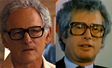 Actor Victor Garber and the Real Ken Taylor