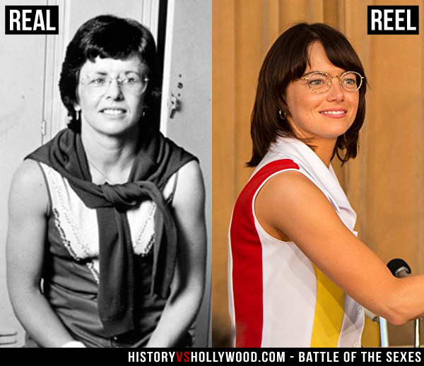 Battle Of The Sexes Movie Vs The True Story Of Billie Jean King Bobby Riggs