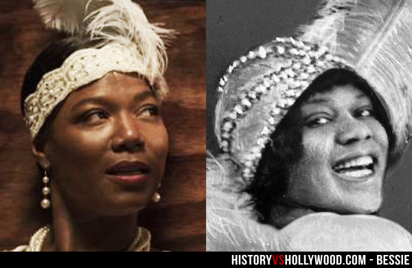 Queen Latifah and Bessie Smith