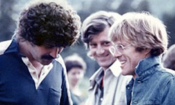 Jeff Dowd with Robert Redford
