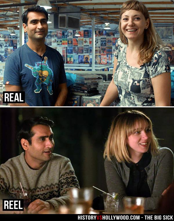 The Big Sick vs the True Story of Emily Gordon and Kumail Nanjiani