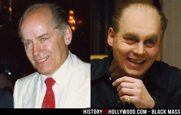 Whitey Bulger and Johnny Depp Smiling Teeth