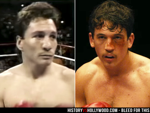 Vinny Paz and actor Miles Teller