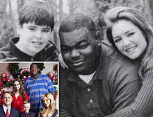 Michael Oher Tuohy Christmas Card