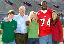 Tuohy Family Ole Miss