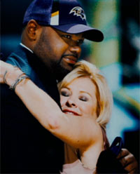 Michael Oher Leigh Anne Tuohy