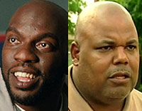 Actor Omar Dorsey and real Tony Henderson