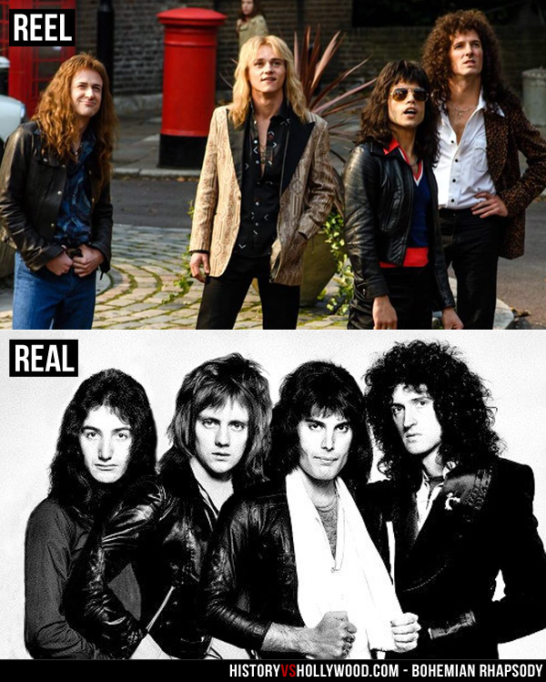 Bohemian Rhapsody Movie vs the True Story of Freddie Mercury