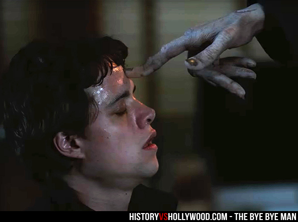 Elliot (Douglas Smith) is Touched by the Bye Bye Man