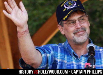 Captain Phillips Injured Wrist