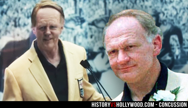 David Morse and real Mike Webster