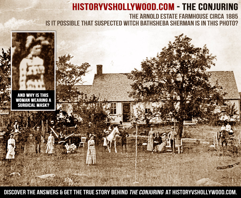 Real Conjuring Farmhouse