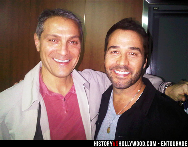 Ari Emanuel and Jeremy Piven