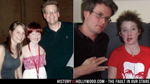 Esther Earl and John Green