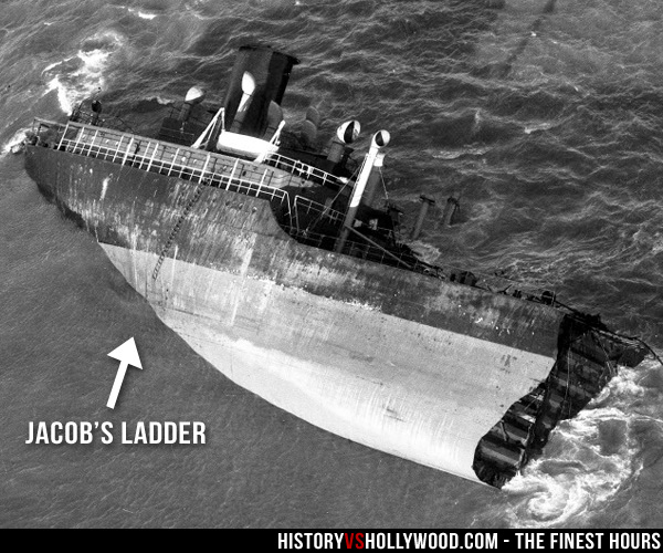 SS Pendleton Stern with Jacob's Ladder
