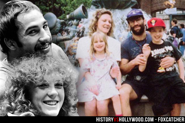 Nancy Schultz, Dave Schultz and Kids