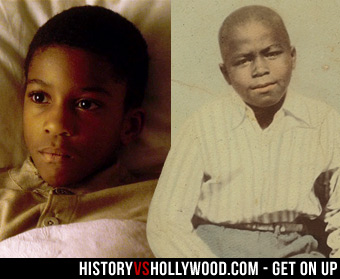 James Brown Childhood Photo
