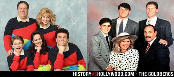 TV Family vs. Real Goldbergs Family