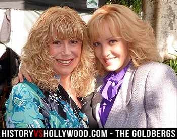 Real Beverly Goldberg and Wendi McLendon-Covey