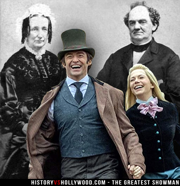 Charity Barnum and P.T. Barnum
