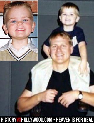 Todd Burpo e filho Colton