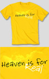 Heaven is for Real t-shirt