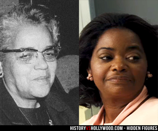 Dorothy Vaughan and Octavia Spencer