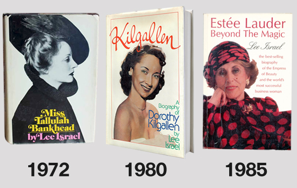 Lee Israel Biographies Miss Tallulah Bankhead, Kilgallen, Estée Lauder: Beyond the Magic