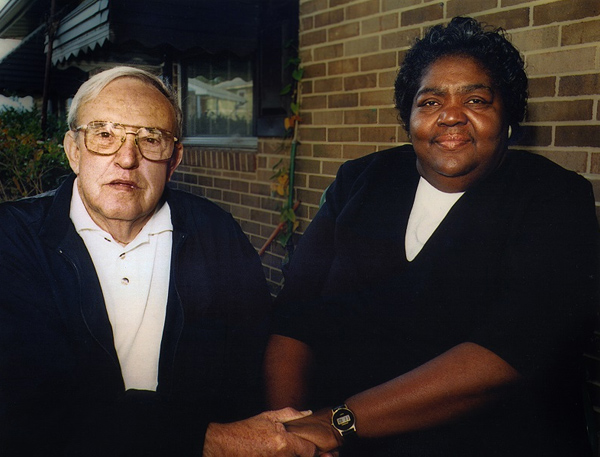 Ann Atwater and C.P. Ellis