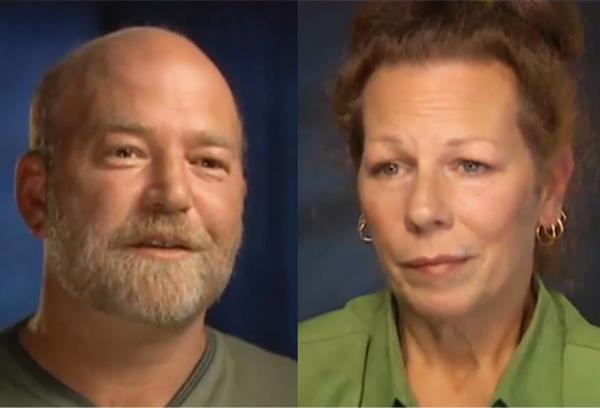 Os verdadeiros Arne Johnson e Debbie Glatzel