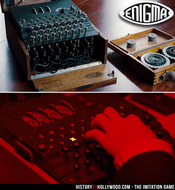 The imitation game true story the real alan turing joan clarke german enigma machine in imitation game movie stopboris Images