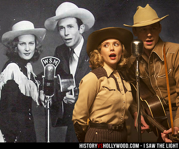 Audrey Mae Sheppard and Hank Williams