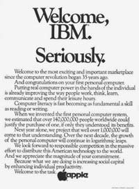Apple IBM Ad